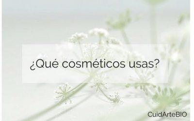 ¿Qué cosméticos usas?
